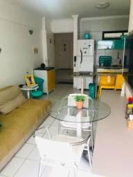 Oportunidade quarto e sala mobiliado na Ponta Verde