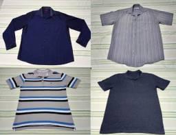 SÓ HOJE! De R$ 90, por R$ 70!! Camisas, camisetas e blusas de frio