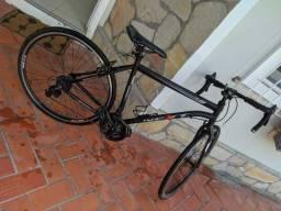 Bicicleta Ozark Trail Aro 700 Next Highway 1 Preta 21 Marchas Speed Câmbio Shimano