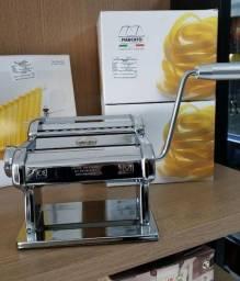 Maquina italiana para 3 tipos de massa marcato atlas 150 (nova) Alecs