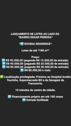 Lotes na Região  do Edgar  Pereira