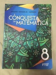 livro de matemática a conquista da matemática 8 ano