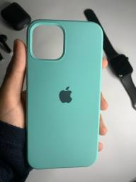 Case Silicone Aveludado iPhone 12, 12 Pro/Max