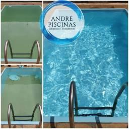 Limpeza e tratamento de piscinas