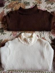 Blusas em lã