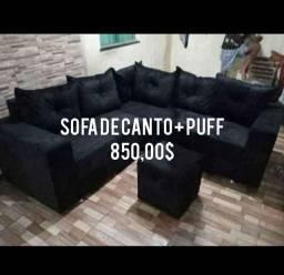 @@ SOFA DE CANTO COM PUFF