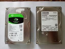 Disco Rígido HD 1 Terabyte, para micro computador semi novo