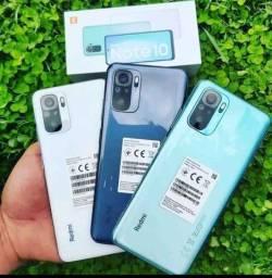 Redmi Note 10 64GB/4GB Ram Cinza/Verde( Le Na Descrição)