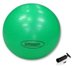 Bola Suíça De Ginástica Pilates 75cm Supermedy Com Bomba
