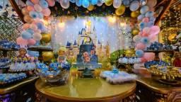 Espaço para seu evento com buffet + decoração inclusos