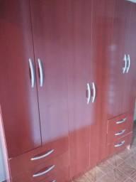 Guarda-roupa de casal 6 portas e 6 gavetas