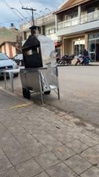 Vendo carrinho de assar espeto