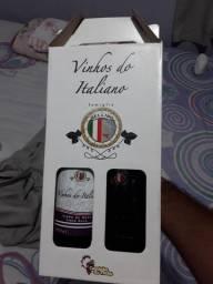 2 vinhos italiano Famiglia Belino