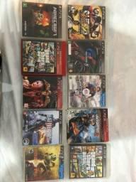 JOGOS PS3 (10 jogos por R$200)