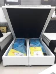 Base Box Com Bau Queen, Compre Direto da Fabrica Master Box, Ligue 21 2764-9572