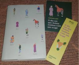 """Vendo livro """"O dia em que Selma sonhou com um ocapi"""" (Mariana Leky)"""