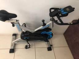 Vendo bicicleta ergométrica spinning prata 120 kg oneal TP 1000