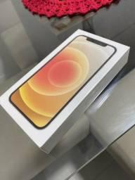 Iphone 12 branco lacrado 64gb