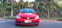 Volkswagen gol g5 vermelho trio elétrico motor 1.0 ano 2010