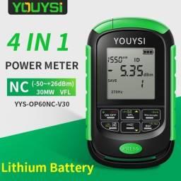 Power Meter Medidor de potencia de fibra óptica