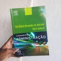 Livro Fundamentos de Administração Para Cursos de Gestão