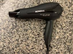 Secador de cabelos Mondial Power Shine Black Ion
