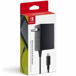 Nintendo Switch Ac Adapter Carregador Fonte Original Bivolt