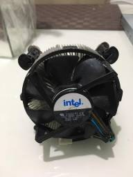 ventoinha cooler intel lga 775 Original com 4 suportes Frete Barato para todo Brasil