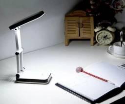 Luminária Escritório Estudos Bateria