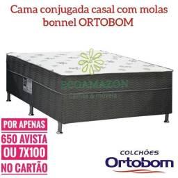 Cama Casal MOLAS ** CAMA CAMA-- Molas** Entrega gratis
