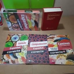 Livro de Espanhol Editora Saraiva - Box