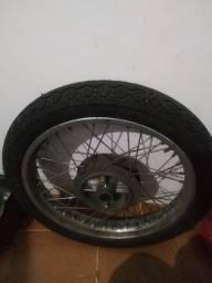 Roda e Pneu cg 150