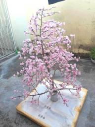 Árvore artesanal p/ decoração R$100,00