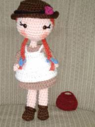 Anne with Amigurumi