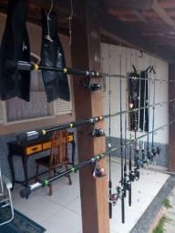 Vendas kit de pesca varas apartir de 120 reais