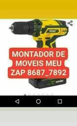 Montador de móveis profissional Edvaldo
