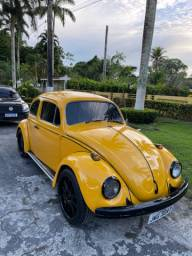 Fusca amarelo - 1974