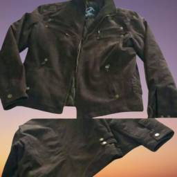 Jaqueta feminina camurça tamanho M