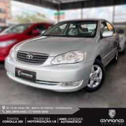 Corolla XEI 2005 Top, O mais novo do Brasil