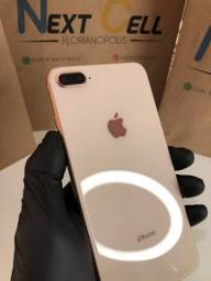 iPhone 8 Plus gold impecável