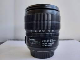 Lentes e Flash Canon - bom preço