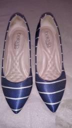 Sapato scarpin beira rio.