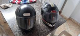 Vendo capacetes juntos ou separados