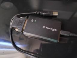 Adaptador USB para VGA ou DVI