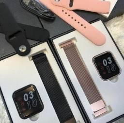 Relógio SmartWatch P80 / Com Duas Pulseiras