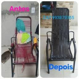 Título do anúncio: Reforma de cadeiras usada