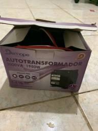 Transformador 110 para 220 de 3000VA nunca usado