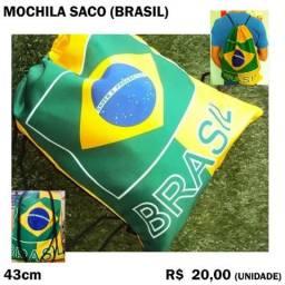 Mochila Saco do Brasil de Tecido