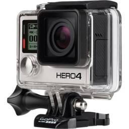 Hero 4 black 4k com 3 baterias (leia a descrição)