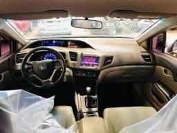 Honda Civic LXS 1.8, 13/14 completo pegamos carros e motos como entrada - 2014